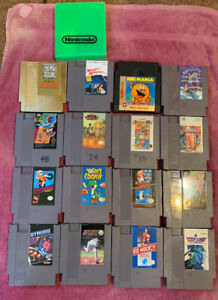 16 NES GAMES ALL IN GREAT SHAPE