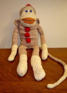Genuine 1950 Old Fashioned Sock Monkey