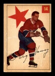 DOUG HARVEY .... 1954-55 Parkhurst .... very nice card