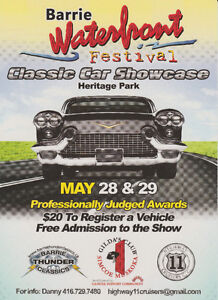 Barrie Waterfront Festival Classics Car Showcase
