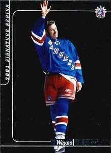 2000/01 Be A Player Signature Series Hockey Card Set #1-250