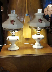 HURRICANE and others VINTAGES LAMPS