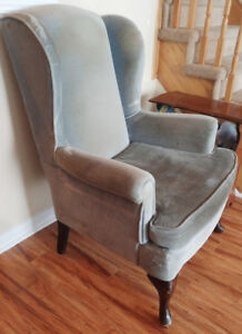 Canadian Made Wing Chair - $50