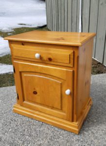 Pine End Table *Delivery Available*