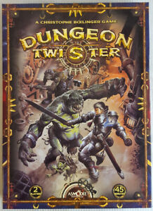 DUNGEON TWISTER and 3/4 PLAYER EXPANSION UNPLAYED + EXTRAS