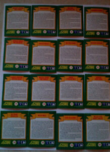56 Card Set of World Series Hologram - 1991 Score Baseball