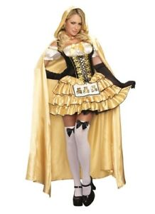Sassy Goldilocks Women Halloween Costume - size Medium- like new