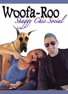 DATE NIGHT WITH YOUR DOG at WOOFA~ROO SHAGGY CHIC SOCIAL