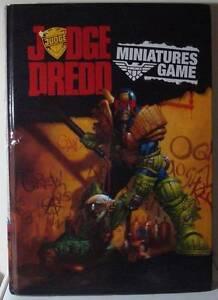 Judge Dredd Miniatures Game Rulebook Trinity Beach Cairns City Preview