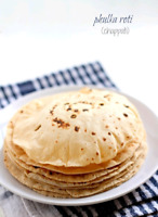 Home made chapatis(rotis), thepla, various parathas ready to eat