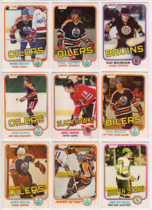 1981-82 O-Pee-Chee Complete Set (81-82 OPC) - GREAT CONDITION!