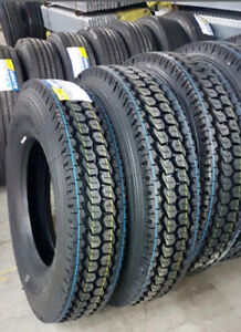 11R22.5 Truck Drive, Steer, Trailer Tires! Guaranteed Quality!