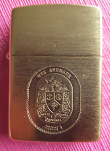 COLLECTIBLE ZIPPO  LIGHTER -USS AVENGER - BRIQUET   ( new- neuf)