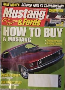 Mustang and Fords – Back issues
