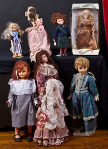Dolls - open to offers