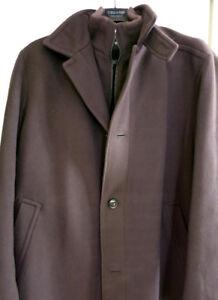 Hugo Boss Cashmere Coat – XL