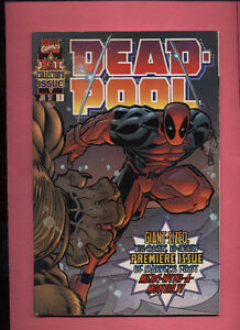 1997 Deadpool Comics #1-7 1,2,3,4,5,6,7
