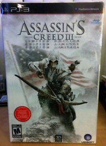Assassin's Creed III Limited Edition - Playstation 3 (Unopened)