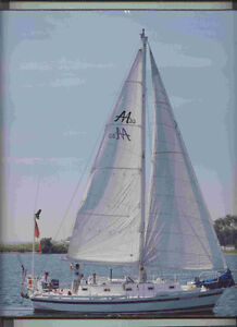 Murray 33 steet cutter rigged keel boat