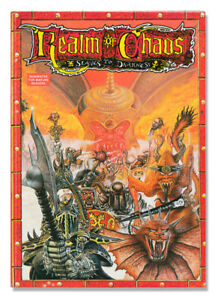 Warhammer - Realm of Chaos: Slaves to Darkness 1988 GW Book