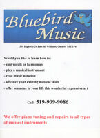 Music Lessons Musical Instrument Repairs Piano Tuning