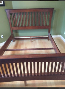 QUEEN BEDFRAME & MATCHING FURNITURE
