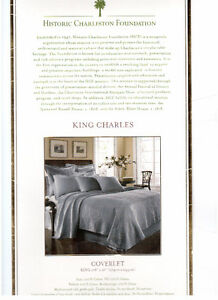 Historic Charleston Foundation King Charles King Coverlet