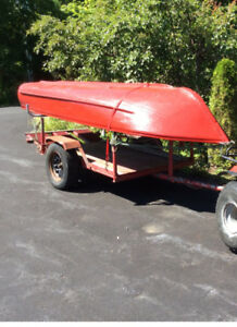 Aluminum 12ft Boat For Sale w/trailer