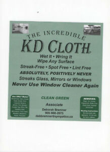 The Incredible KD Cloth