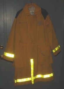 BH759 Securitex PBI Fire Fighters Turnout Bunker Coat Style 419L