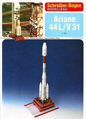 Schreiber-Bogen Kartonmodellbau Ariane 44 L/V 31