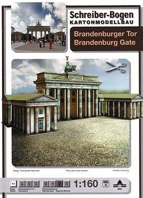 Schreiber-Bogen Kartonmodellbau Brandenburger Tor