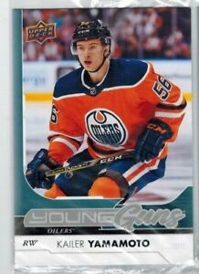 KAILER YAMAMOTO ... 2017-18 Upper Deck YOUNG GUNS .. ROOKIE CARD