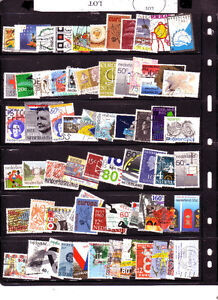 timbres;Nederland;131 timbres tous differents;