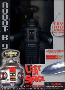 ROBOT B9 FROM LOST IN SPACE  1997 TRENDMASTERS INC.