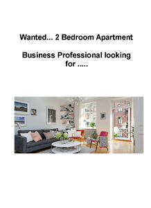 2 Bedroom Apartment for Business Professional