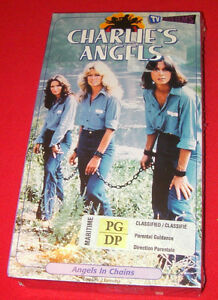 Charlie's angels VHS tape