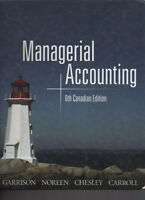 Managerial Accounting 6th Canadian Edition