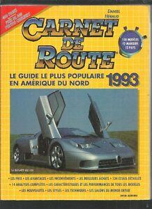CARNET DE ROUTE 1993 DANIEL HÉRAUD EXCELLENT ÉTAT TAXES INCLUSES