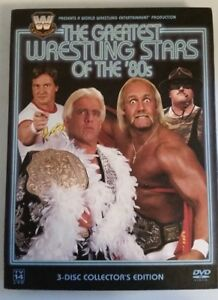 WWF - The Greatest Wrestling Stars of the '80's (3-DISC DVD SET)