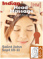 Upgrade your skills!  Indian Head Massage Certification Course