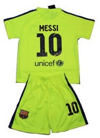 Barca 2014- 2015 for children soccer jersey with shorts