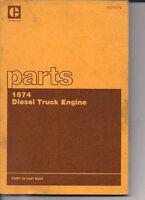 Cat 1674 diesel manual