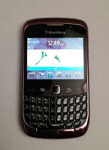 Blackberry Curve 3G 9300/Pink - Like New