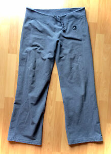 Lululemon Authentic Grey Yoga Athletic Joggers Size 10 Large XL