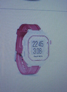 GARMIN GPS RUNNING FORERUNNER 25  PINK LADIES