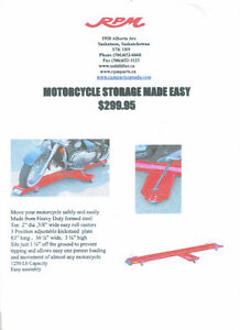 Motorcycle Storage Made Easy - Dolly - Scooter - Skate