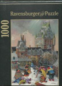 RAVENSBURGER PUZZLE 1000 Pcs. BEAU CHEF D'OEUVRES - QUÉBEC