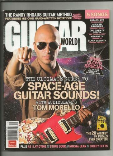 ORIGINAL December 2006 Guitar World Magazine w/ CD Audioslave Tom Morello