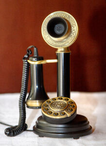1909 Paramount Collector's Series Chicago Candle Stick Phone